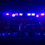 uv lighting nightclub hire